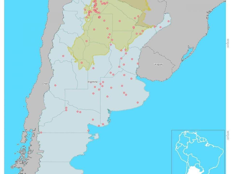 Grandes Transacciones de Tierra en Argentina