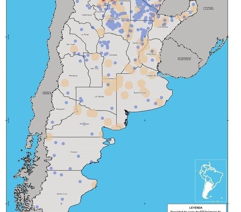 Grandes transacciones de tierras y comunidades indígenas en Argentina