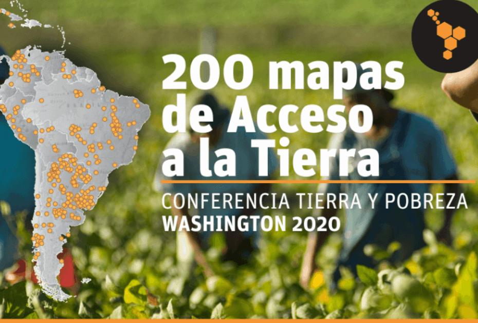 200 mapas de acceso a la tierra