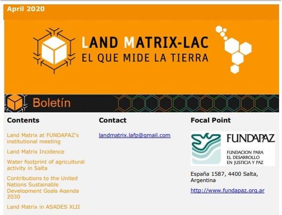 Newsletter LAFP-LM April 2020